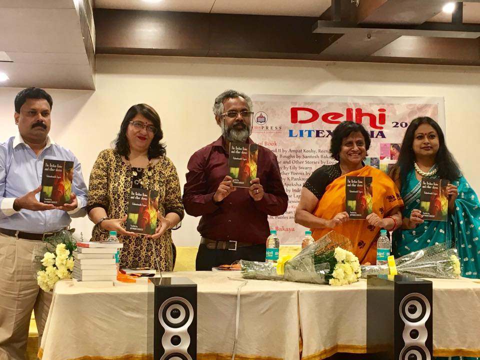 Book launch_The Broken Home and other stories in Delhi